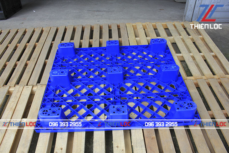 Pallet chân cốc blue 1200x1000x140