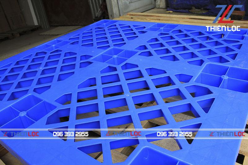 Pallet nhựa cốc kép 1100x1100x145mm