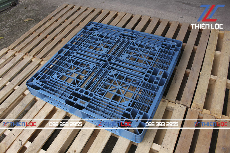 Pallet nhựa cũ 1000x1000x120mm