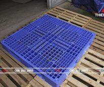 Pallet nhựa Hàn Quốc 1200x1200x150
