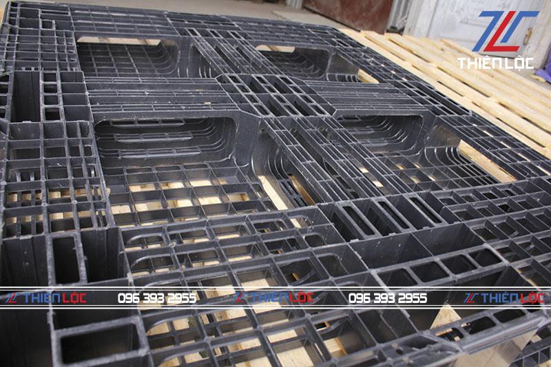 Pallet nhựa Hàn Quốc 1200x1000x120