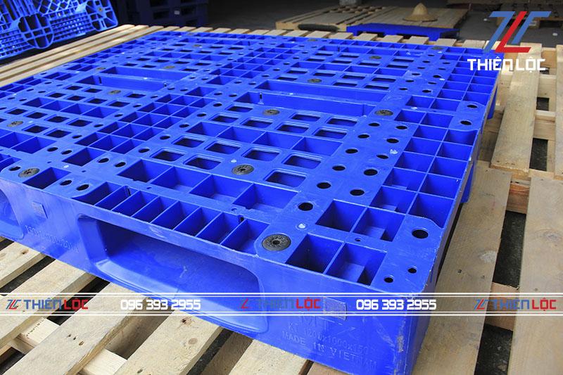 Pallet nhựa MLP Blue 1200x1000x150