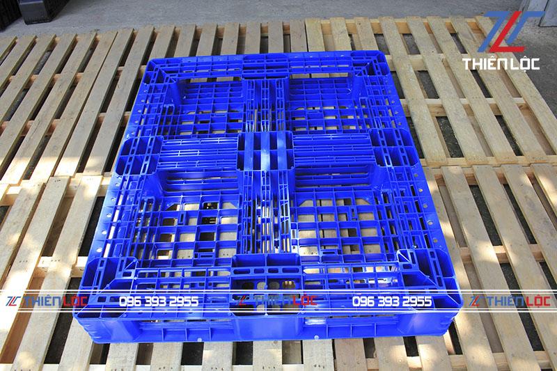 Pallet nhựa MPL08N Blue 1200x1000x145