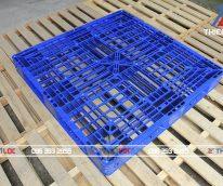 Pallet nhựa PL1125T 1100x1100x125
