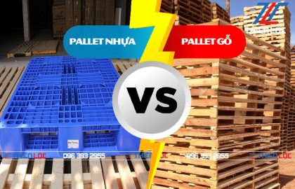 Ưu nhược điểm của pallet nhựa và pallet gỗ
